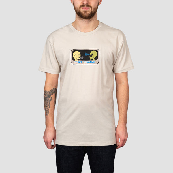 Alien Workshop Mind Control Tee Tan