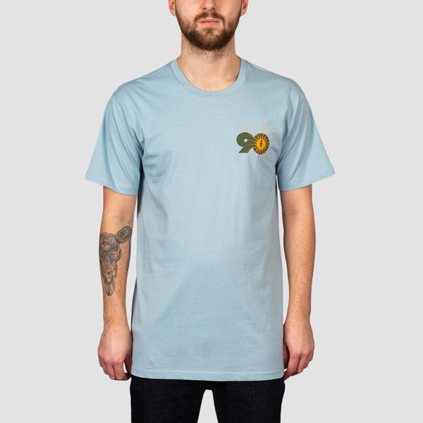 Alien Workshop OG Logo Tee Pale Blue
