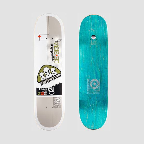 Alien Workshop Triad Icon Yaje Popson Deck - 8.375""