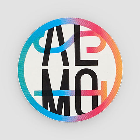 Almost Car Crash Sticker Multi 80mm
