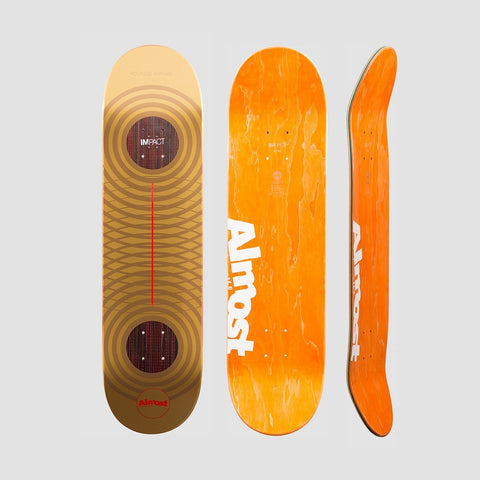 Almost Metallic Rings Impact Deck Youness Amrani - 8.25 - Skateboard