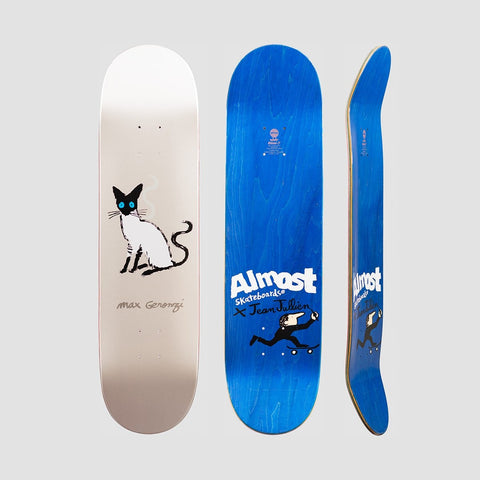 Almost Pets R7 Deck Max Geronzi/White - 8.125 - Skateboard