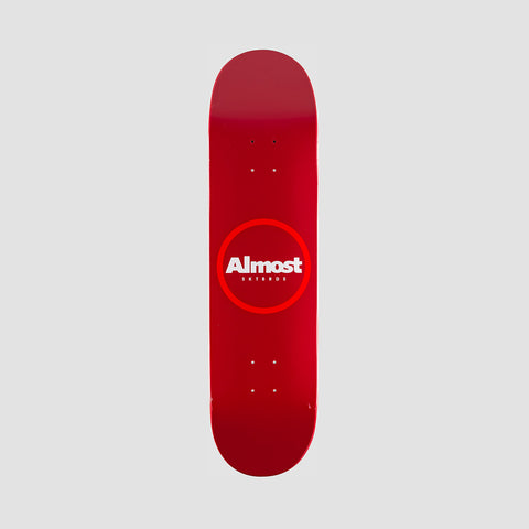 Almost Red Ring Resin HYB Deck Red - 8.25""
