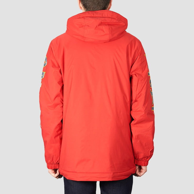 Analog Chainlink Anorak Snow Jacket Process Red - Snowboard
