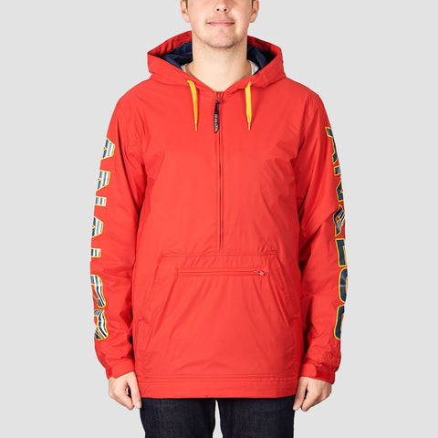 Analog Chainlink Anorak Snow Jacket Process Red