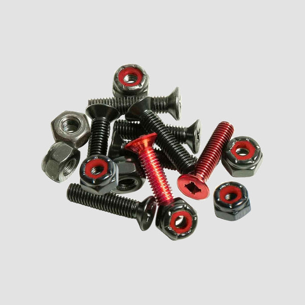 Andalé Combo Hardware Truck Bolts Red 7/8""