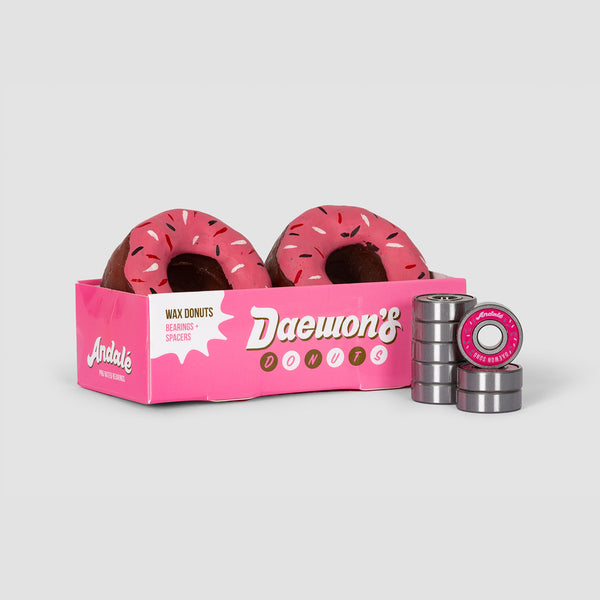 Andale Donut Wax & Pro Rated Bearings x8