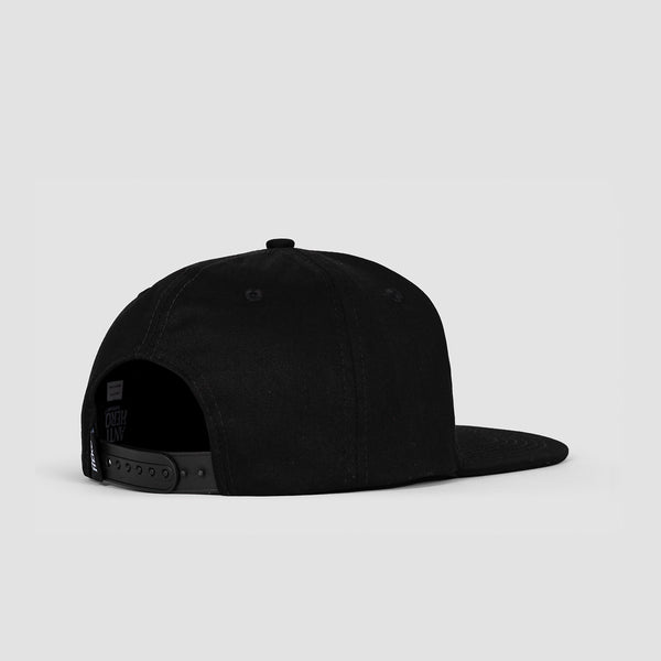 Antihero Basic Pigeon Snapback Cap Black/Orange