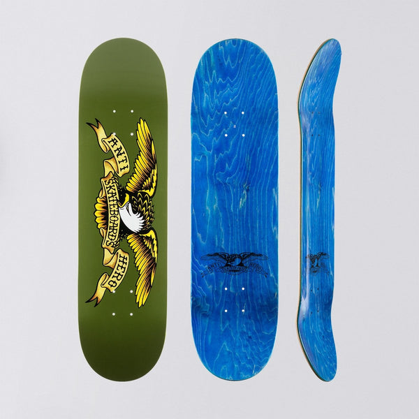 Antihero Classic Eagle Deck Green - 8.38 - Skateboard