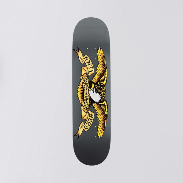 Antihero Classic Eagle Deck Grey - 8.25 - Skateboard
