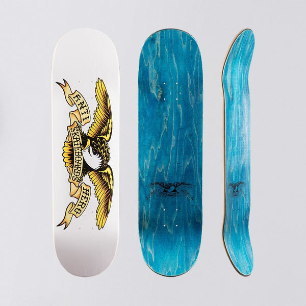 Antihero Classic Eagle Deck White - 8.75 - Skateboard