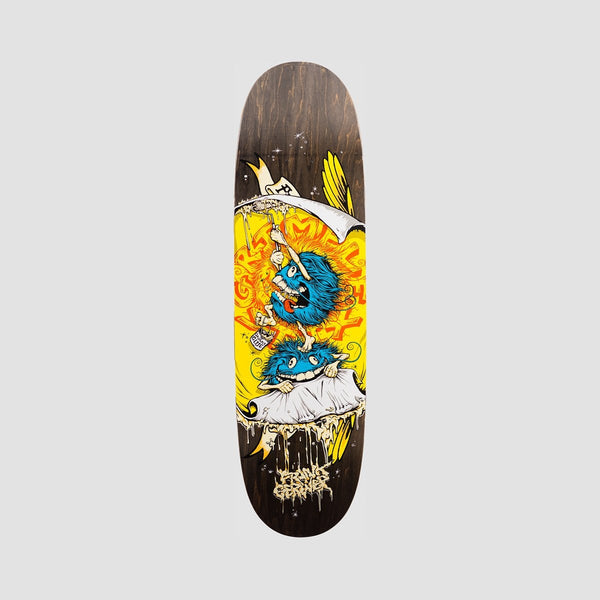 Antihero Grimple Glue Frank Gerwer Slick Deck Black - 8.75 - Skateboard