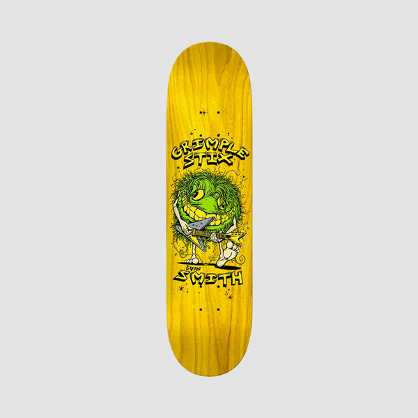 Antihero Grimple Stix Family Band Evan Smith Deck Various Stains - 8.12""