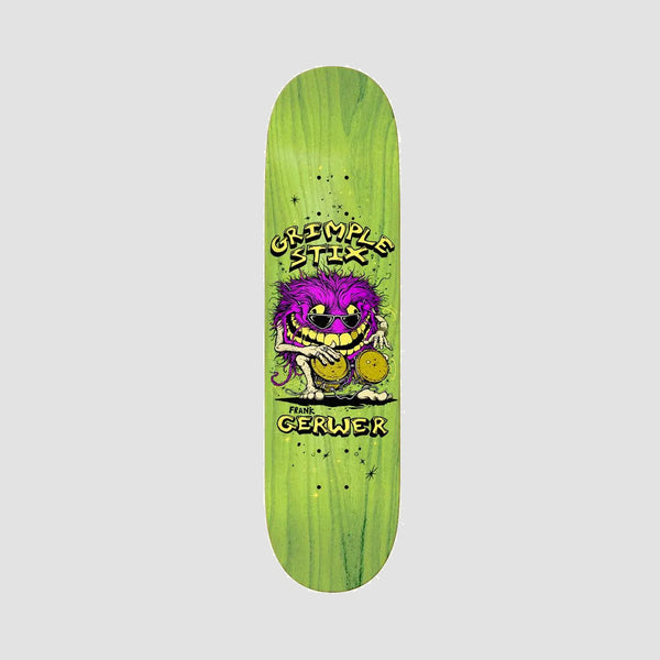 Antihero Grimple Stix Family Band Frank Gerwer Deck Various Stains - 8.06""
