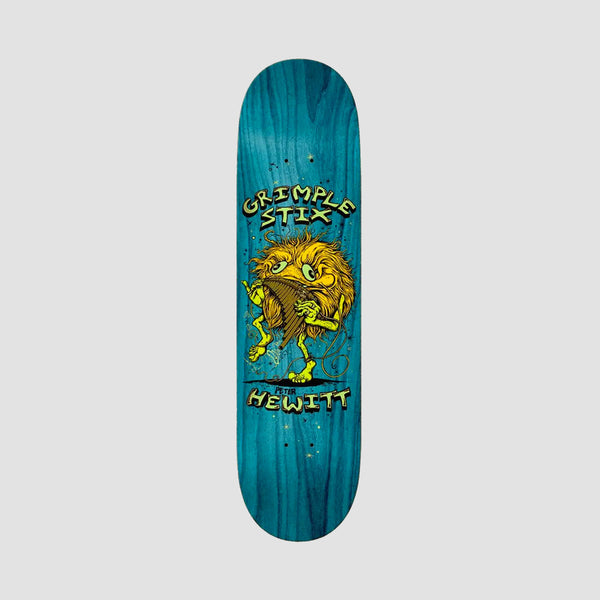 Antihero Grimple Stix Family Band Peter Hewitt Deck Various Stains - 8.62""