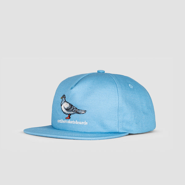 Antihero Lil Pigeon Snapback Cap light Blue