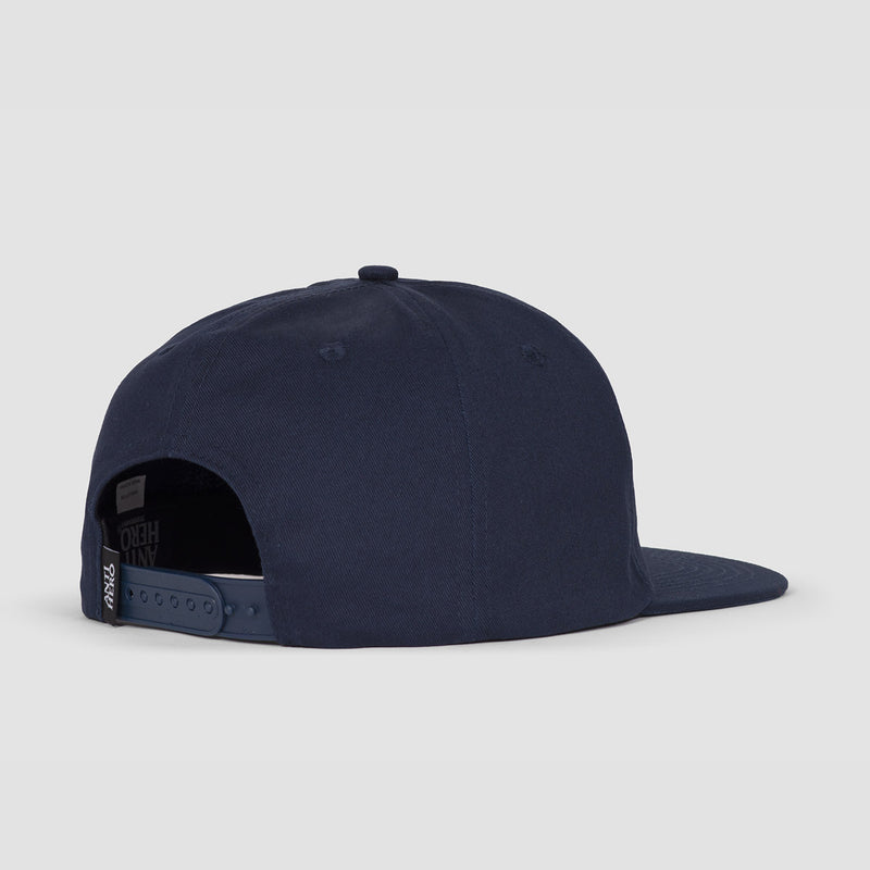 Antihero Lil Pigoen Snapback Cap Navy/light Blue