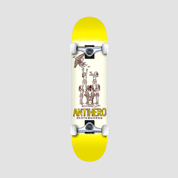 Antihero Oblivion Pre-Built Mini Complete Yellow - 7.3""