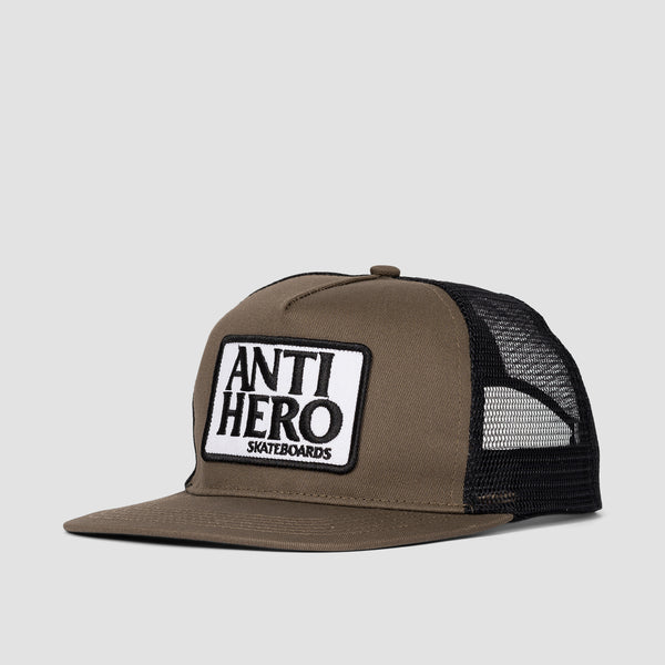 Antihero Reserve Patch Snapback Cap Brown/Black