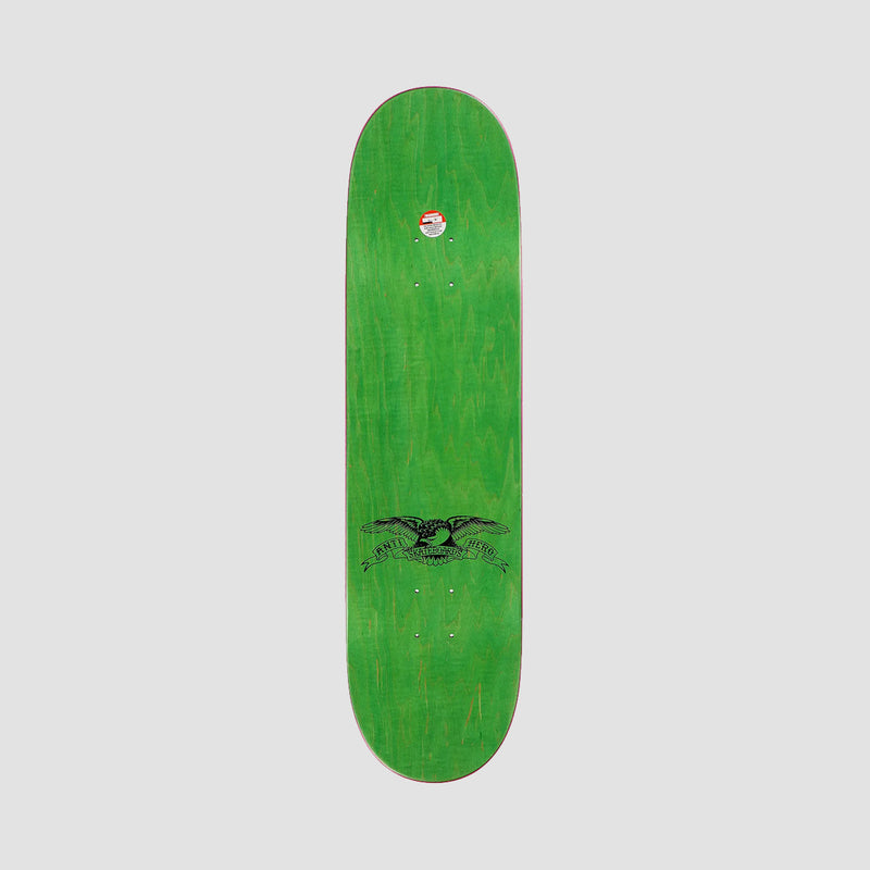 Antihero Taylor Curbside Service Deck Teal Stain - 8.25""