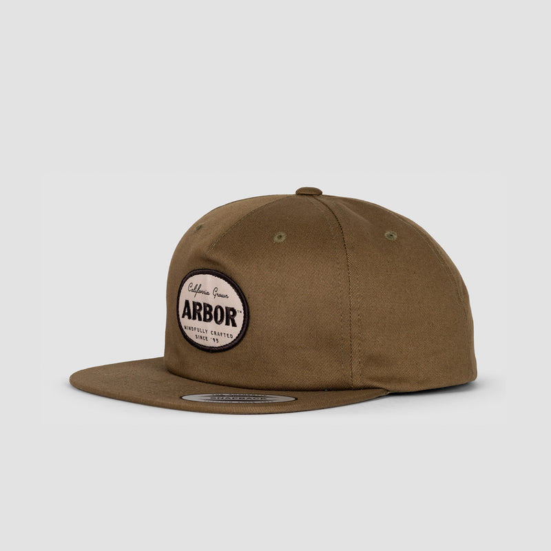 Arbor Central Cap Light Olive