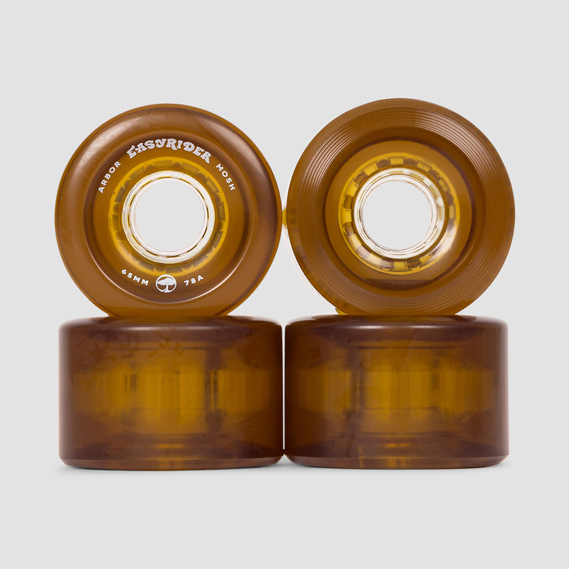 Arbor Mosh 78a Easyrider Wheels Amber 65mm
