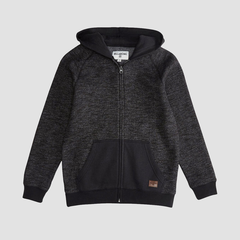 Billabong Balance Zip Hood Black - Kids