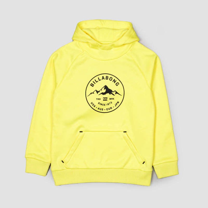 Billabong Downhill Pullover Snow Hood Citrus - Kids