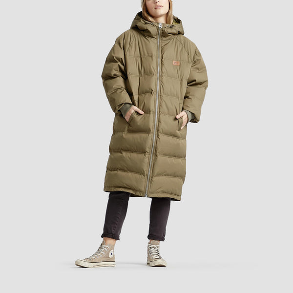 Billabong Northern Jacket Olive - Womens