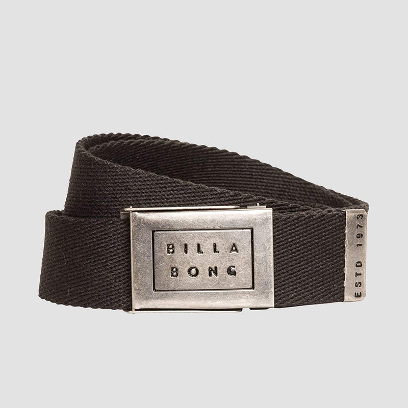 Billabong Sergeant Belt Black