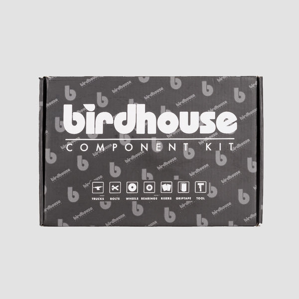 Birdhouse 5.25 Component Kit Silver/Black - 8 - Skateboard