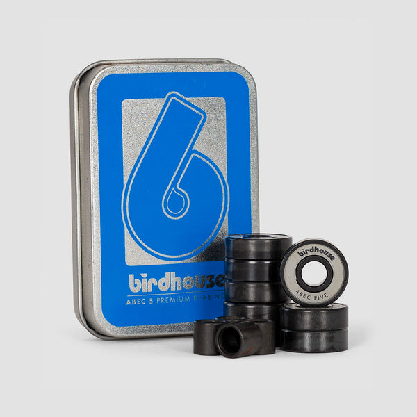 Birdhouse Abec 5 Bearings Grey x8