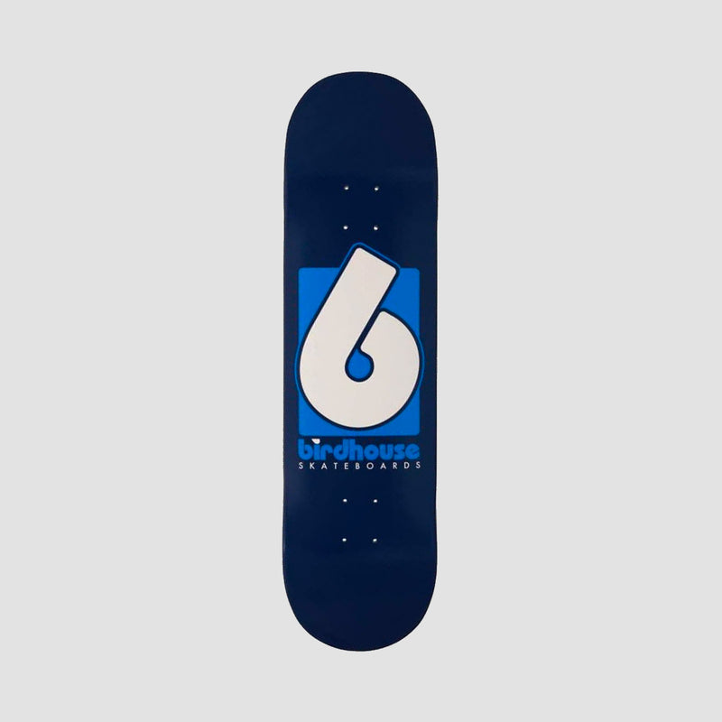 Birdhouse B Logo Deck Blue - 8.375""