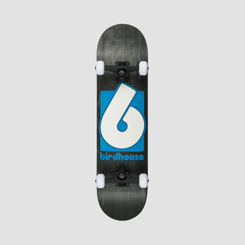 Birdhouse B Logo Stage 3 Pre-Built Complete Black/Blue - 8""