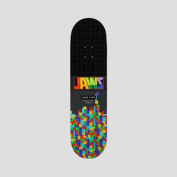 Birdhouse Jaws Blocks Aaron Homoki Pro Deck Black - 8.25""