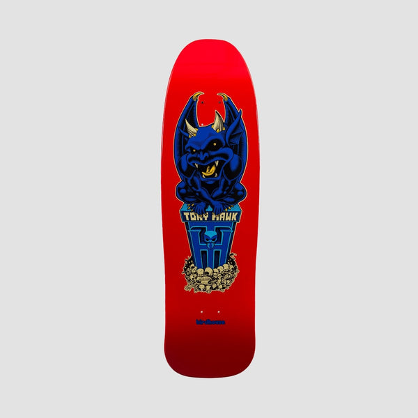 Birdhouse Tony Hawk Gargoyle Old School Deck Red - 9.375 - Skateboard