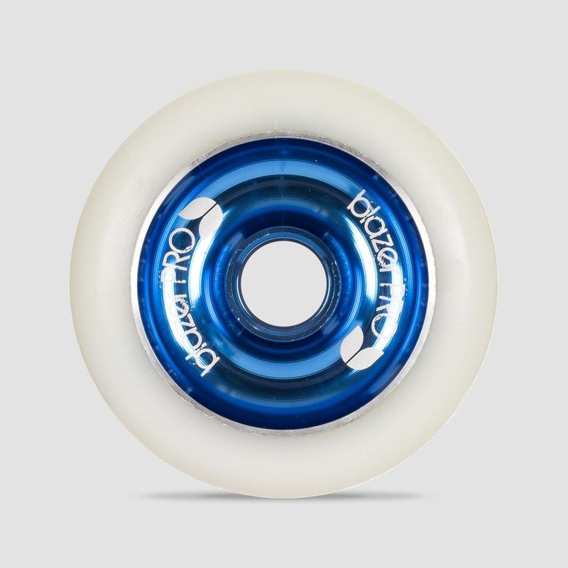 Blazer Pro Aluminium Core Scooter Wheel X1 White/Blue 100mm - Scooter