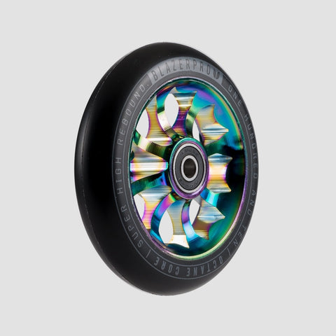 Blazer Pro Octane Scooter Wheel x1 With Abec-9 Neochrome.110mm - Scooter
