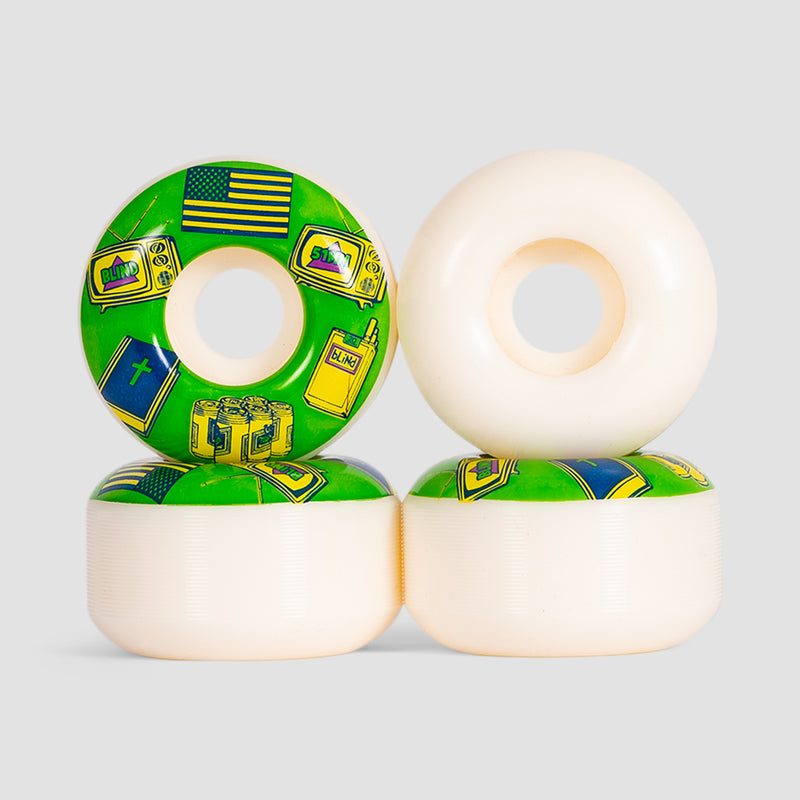 Blind American Icons Wheels Green 51mm