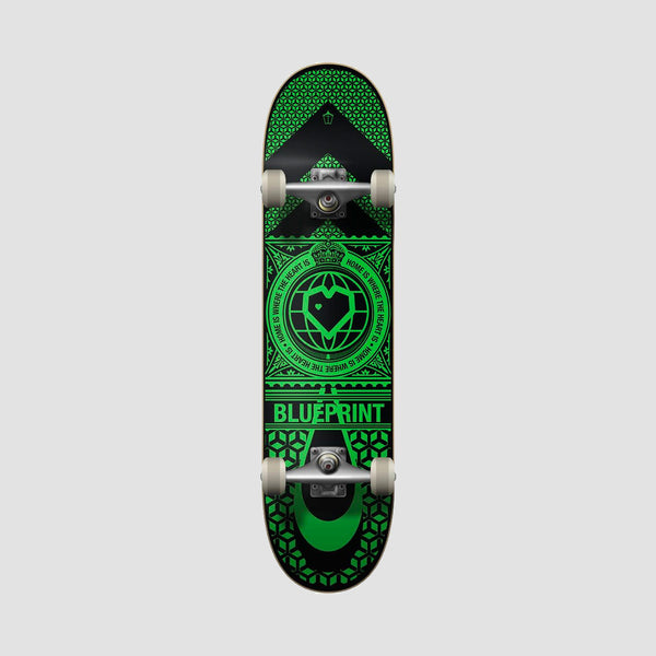 Blueprint Home Heart Pre-Built Complete Black/Green - 8""