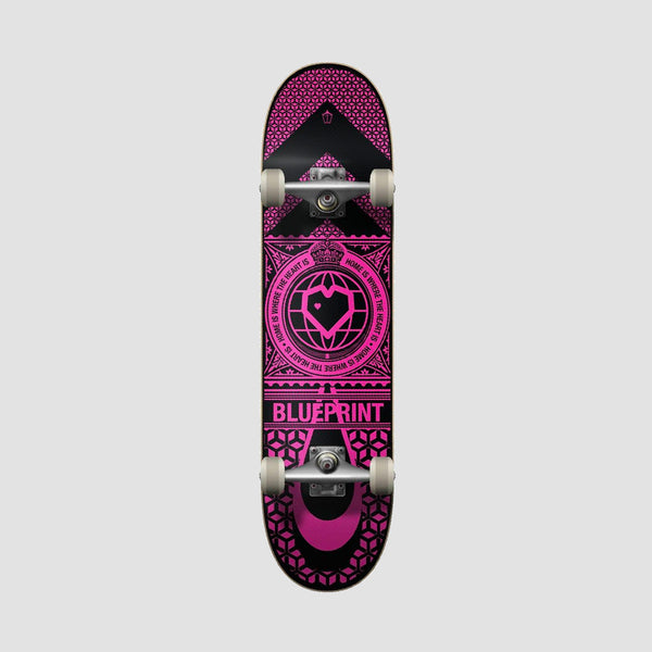 Blueprint Home Heart Pre-Built Complete Black/Pink - 7.75""
