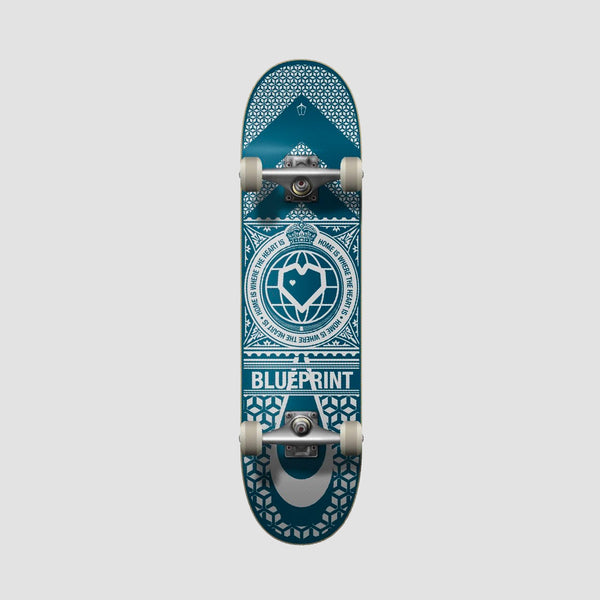 Blueprint Home Heart Pre-Built Complete Navy/White - 8""