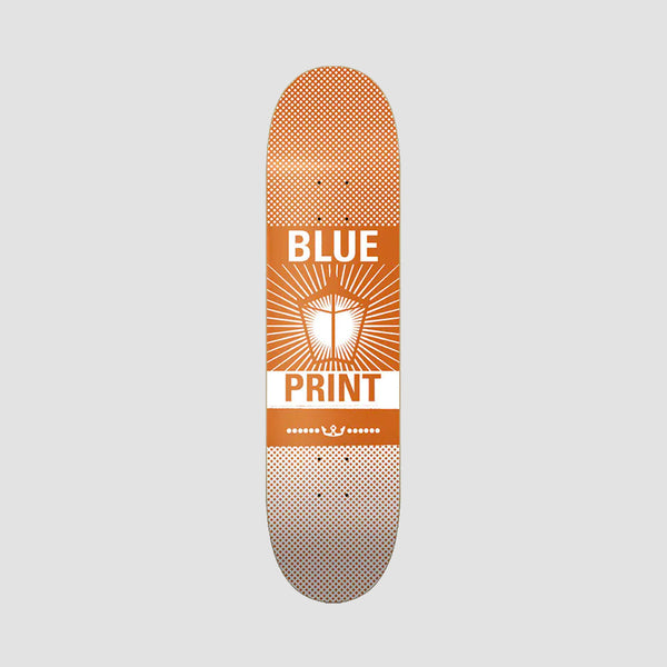 Blueprint Pachinko Deck Orange/White - 8.25""