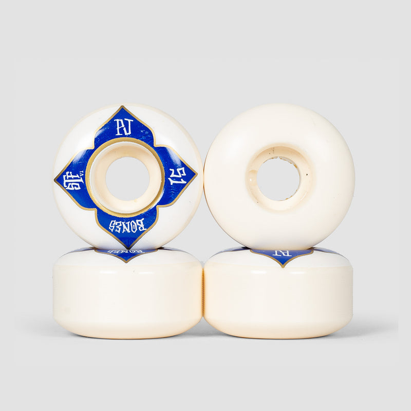 Bones PJ Ladd Lotus V1 103a STF Wheels White 51mm