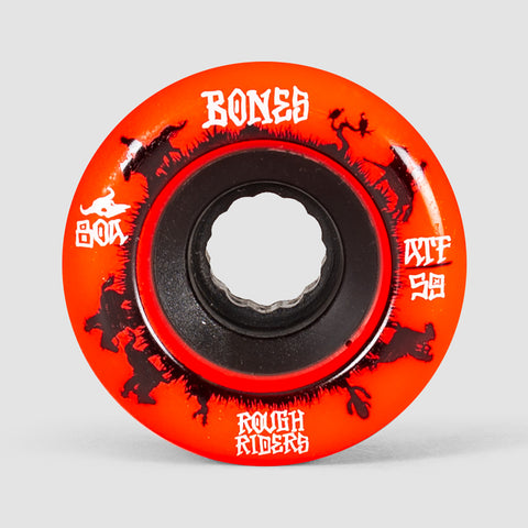 Bones Rough Riders Wranglers Core ATF Wheels Red 59mm