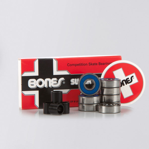 Bones Swiss 6 Ball Bearings x8 - Skateboard