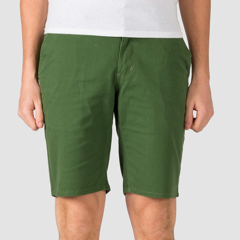 Brixton Toil II Hemmed Shorts Leaf - Clothing