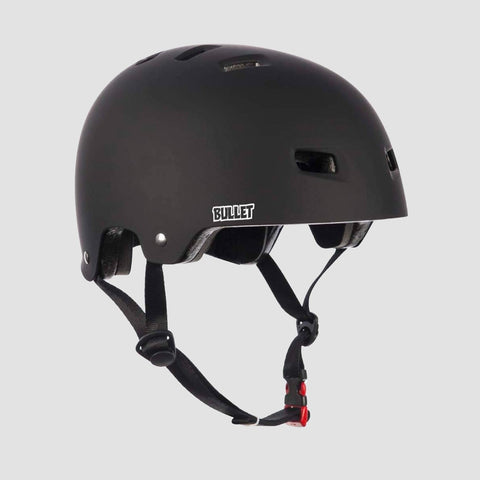 Bullet Deluxe T35 Helmet Matt Black - Kids - Safety Gear