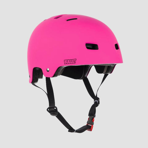 Bullet Deluxe T35 Helmet Matt Pink - Kids - Safety Gear