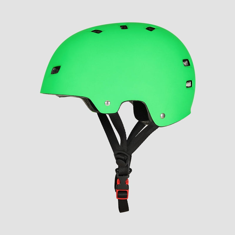 Bullet T35 Deluxe Helmet Matte Green - Safety Gear
